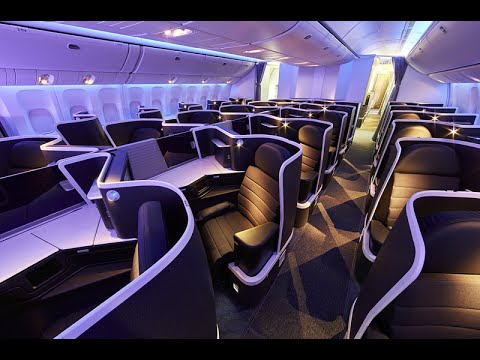 Virgin Australia's new 777 Business Class