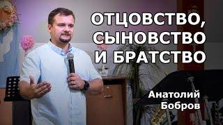 Отцовство, сыновство и братство (Анатолий Бобров)