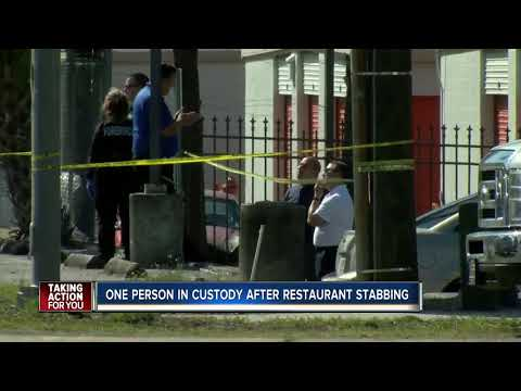 Three people stabbed at Peking Chinese Restaurant in Tampa