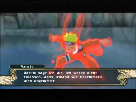 Naruto Storm 1 Naruto vs. Sasuke boss battle |