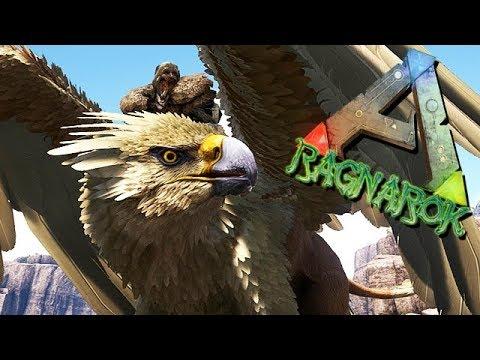 ARK Ragnarok Gameplay German - Halb Adler Halb Löwe