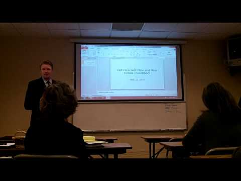 Self-Directed IRAs and Real Estate Investment - May 22, 2012