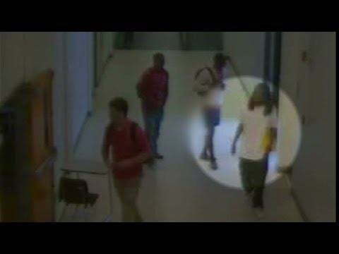 See footage of Kendrick Johnson entering gym