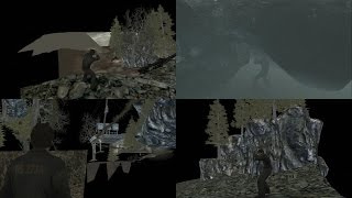 Silent Hill Downpour Glitch Part 1: Bus Crash Site 1