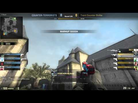 Trent vs UEA CS:GO