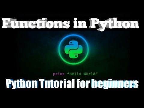 #3 Functions in Python | Python Tutorial for Beginners | part-3 | Bangla Tutorial thumbnail