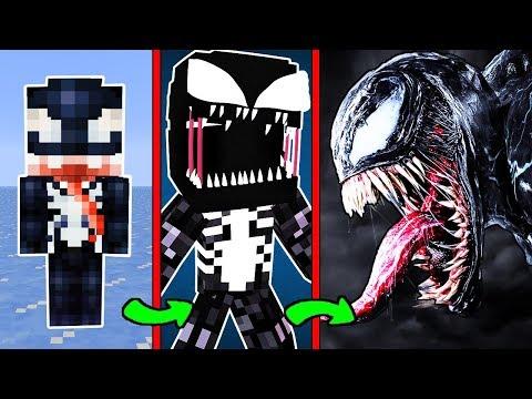 КАК МЕНЯЛСЯ МУТАНТ ВЕНОМ И ЕГО ЖИЗНЕННЫЙ ЦИКЛ В МАЙНКРАФТ ЭВОЛЮЦИЯ И ТРОЛЛИНГ НУБА MINECRAFT Venom