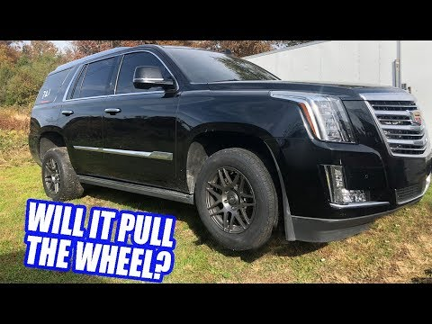 Super LOUD cutouts on new Escalade! Track Prepping The Caprice And Escalade! Let's Set Some Records!