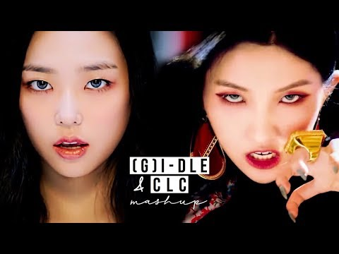 (G)I-DLE & CLC - 'HANN (Alone) X BLACK DRESS' (MASHUP)