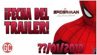 ¡ATENCIÓN! Nueva Fecha Para El Trailer De Spider-Man: Far From Home