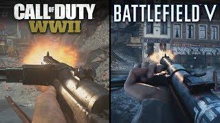 Battlefield V vs Call of Duty: WWII | Direct Comparison