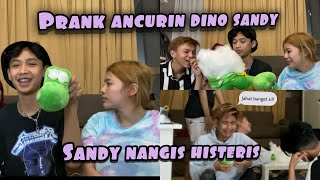 Download Lagu Prank hancurin boneka Dino punya Sandy | Dia nangis gak terima! mp3