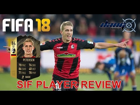 FIFA 18 SIF NILS PETERSEN PLAYER REVIEW + STATS