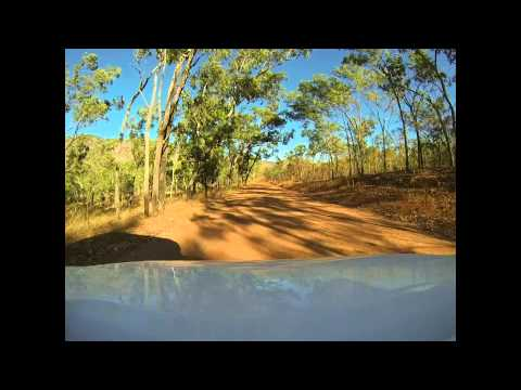Gunlom Falls to Kakadu Highway, 37km, Toyota HILUX (Adventur