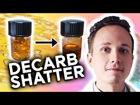How to Decarb Shatter with 4 Different Methods