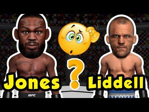 How the fight will go between Jon Jones and Chuck Liddell ?