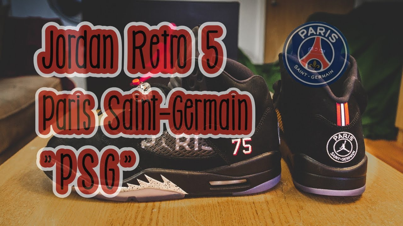 972928fc1747 Paris Saint-Germain x Jordan 5