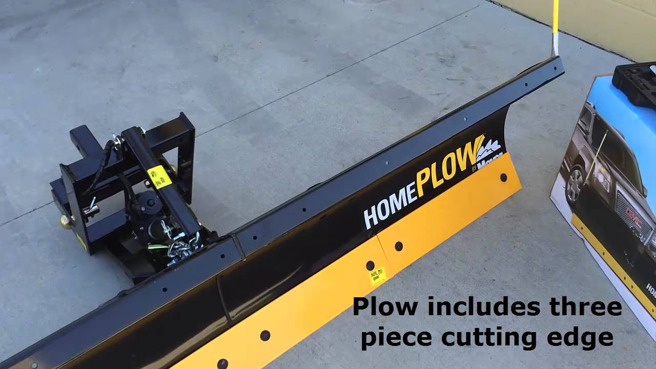 Homeplow Basic By Meyer Youtube Jeep Wrangler Plow Wiring Diagram