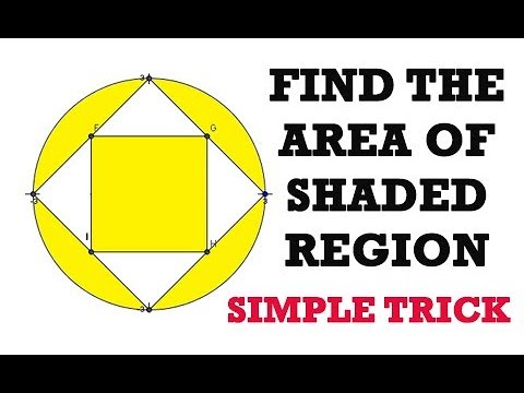 How to find area of shaded region geometry tricks youtube how to find area of shaded region geometry tricks ccuart Images