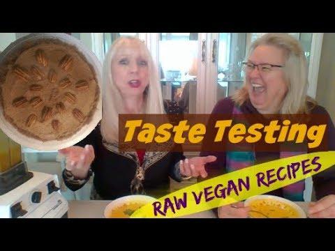 How do raw vegans stay raw during winter?   Taste testing raw vegan recipes
