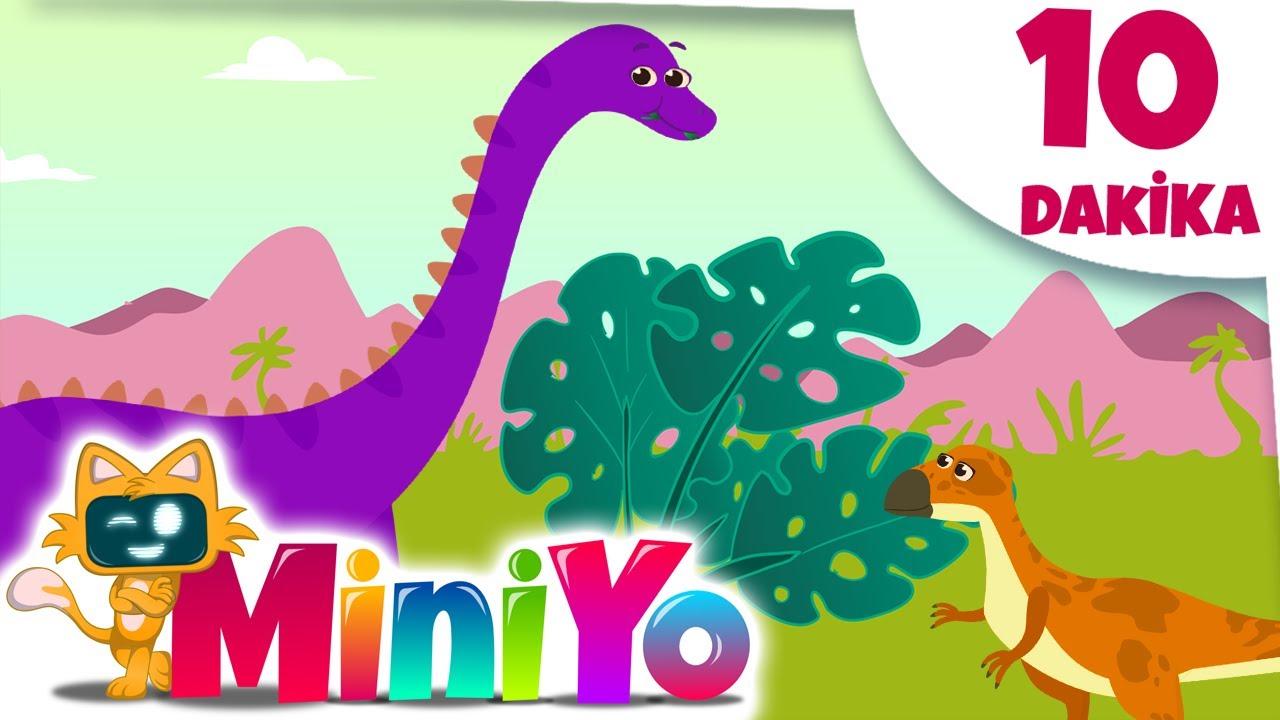 Otçul Dinozorlar + Daha Fazla Çocuk Şarkısı   Miniyo
