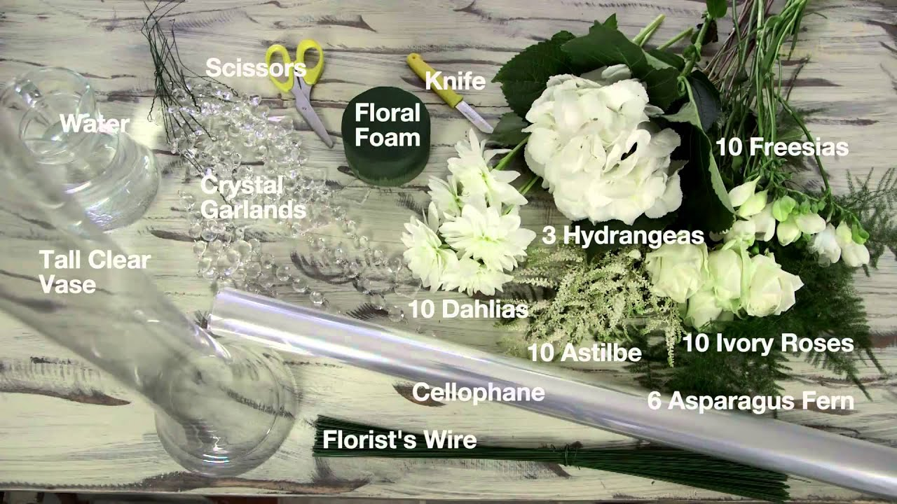 How To Make A Celebrity Inspired Floral Wedding Centrepiece
