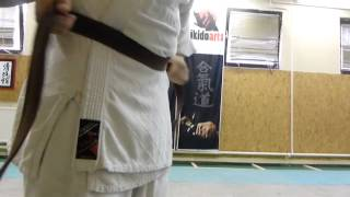 how to tie your aikido belt/ öv kötés [TUTORIAL] Aikido dojo etiquette