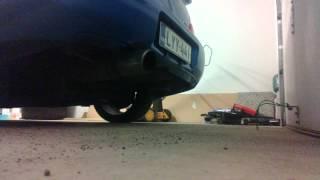 """2005 Subaru Impreza WRX STi JDM 3"""" catback exhaust sound"""