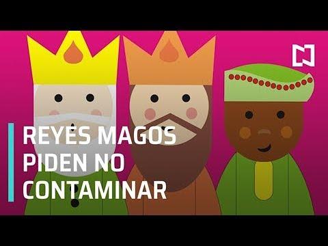 Reyes Magos piden no enviar cartas con globos porque contaminan - Por las Mañanas