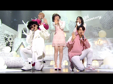《Special Stage》 AKMU X JISOO X DOYOUNG X JINYOUNG - Winter Child (겨울아이) @인기가요 Inkigayo 20170219