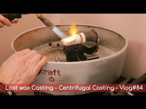 Lost Wax Casting - Centrifugal Casting - Vlog#84