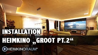 "Heimkino ""Groot PT.2"" - made by HEIMKINORAUM Berlin"
