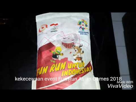 Event Fun Run Asian Games Yang Mengecewakan...