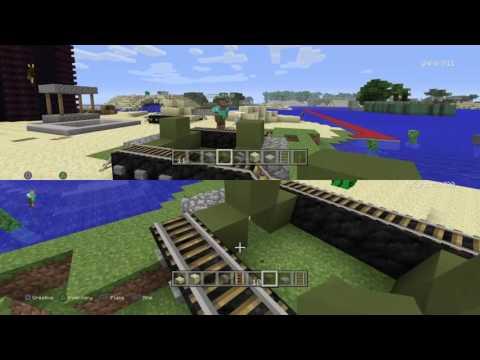 Minecraft Playstation4 Easy Tank Tutorial