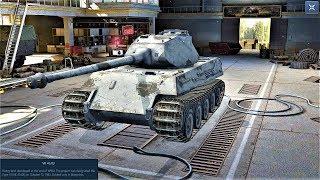 World of Tanks Blitz Game Play (VK 45.03(Tiger lll)) v4.6.0