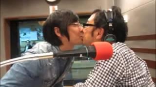 「東京03 SCHOOL NINE」2013年10月7日より。 角田さんが豊本さん.