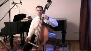 Schubert: Symphony 9 - Scherzo - Double Bass Tutorial - Master Class Vol. 2 - Felix F. J. Maiwald