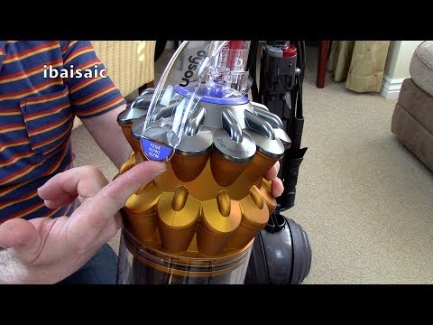 dyson-small-ball-multifloor-vacuum-cleaner-unboxing,-assembly-first-look