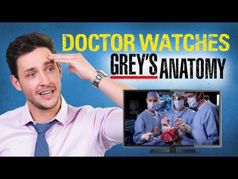 Real Doctor Reacts to GREY'S ANATOMY  Medical Drama   Doctor Mike