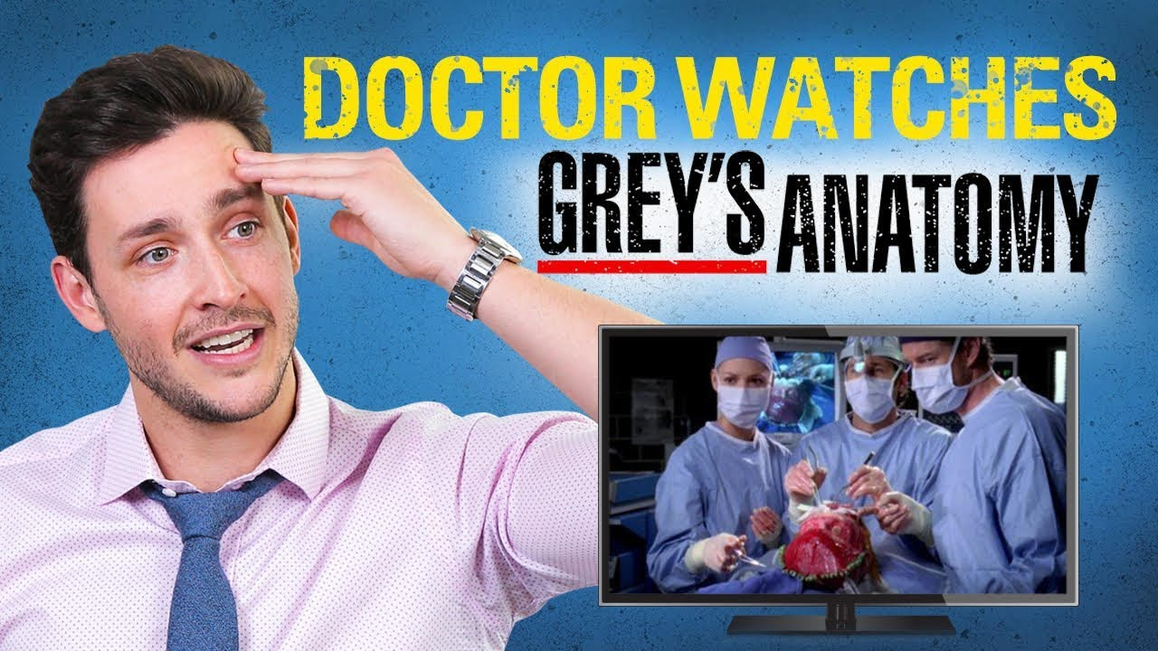 Real Doctor Reacts to GREY\'S ANATOMY | Medical Drama Review | Doctor ...