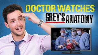 Real Doctor Reacts to GREY'S ANATOMY | Medical Drama Review | Doctor Mike thumbnail