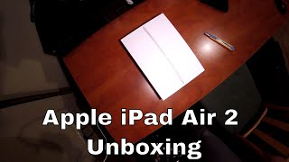 Apple iPad Air 2 Silver 16GB Unboxing