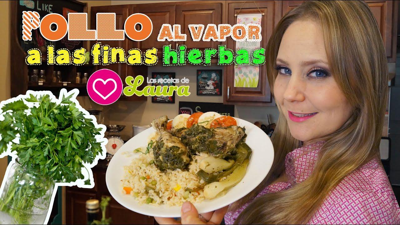 Como preparar pollo a las finas hierbas steamed chicken recipe youtube - Pollo asado a las finas hierbas ...