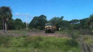 H3 Homes Clearing Another Lot in Port St. Lucie, Florida