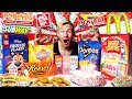 I ATE EVERYTHING I WANTED FOR MY BIRTHDAY! (EPIC FOOD CHALLENGE)