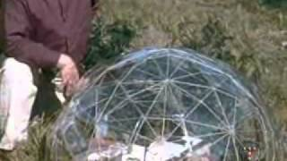 The Pod - Foldable Geodesic Domes