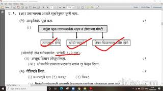 Marathi Practice Paper # std 10 # part 1 # lecture video