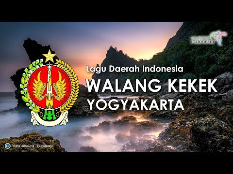 Walang Kekek - Lagu Daerah Yogyakarta (Karaoke, Lirik & Terjemahan) [versi Original]