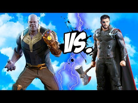 THANOS vs THOR - EPIC BATTLE (INFINITY WAR)