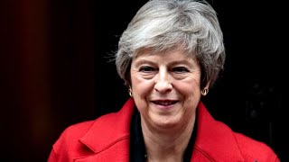 British PM Theresa May vows to fight in leadership vote